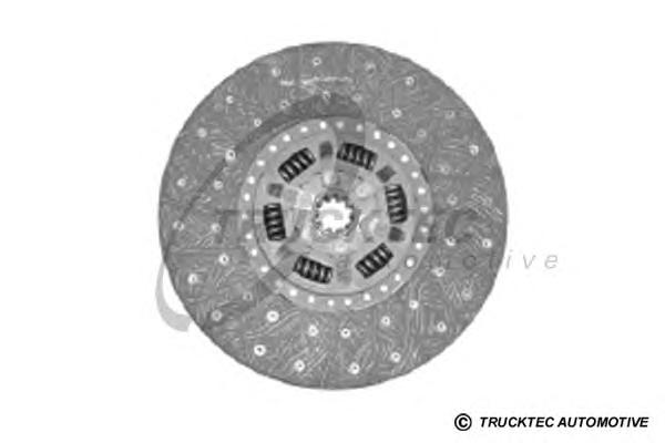 0823109 TRUCKTEC Диск сцепления