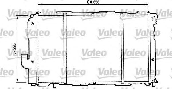 810990 VALEO Радиатор, охлаждение двигателя