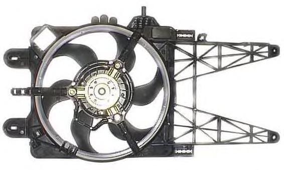 LE512 BERU Вентилятор