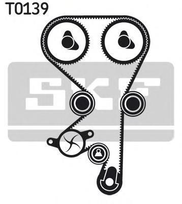 Комплект ремня ГРМ SKF VKMA05152