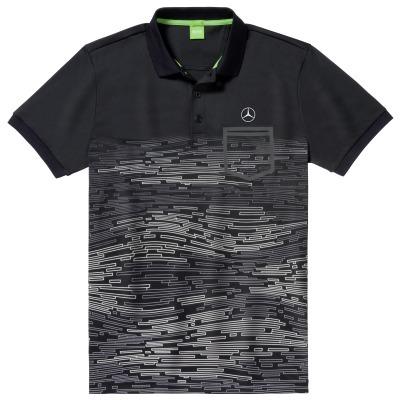 B66958479 MERCEDES-BENZ Мужская рубашка-поло Mercedes-Benz Men's Polo Shirt размер: M