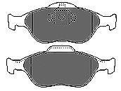 6672 MAPCO Комплект тормозных колодок, дисковый тормоз