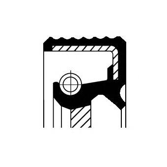 20015497B CORTECO Уплотняющее кольцо, дифференциал