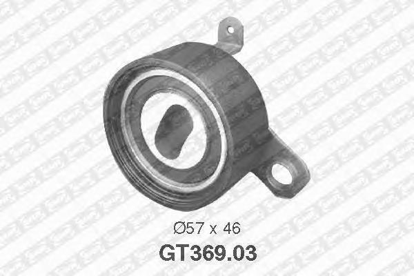 Натяжной ролик, ремень ГРМ NTN-SNR GT36903