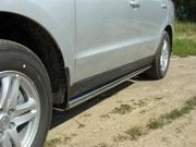 HYUNSF1104 ТСС Пороги труба 60,3 мм для Hyundai Santa Fe (2010-2012)