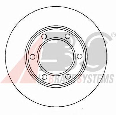 15575 ABS Тормозной диск