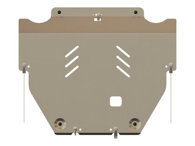 081029 SHERIFF Защита картера и КПП, Кузов: MK IV, AL 5 мм, вес: 8,7, время  установки: 15-30 мин.