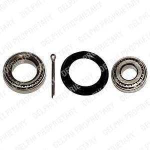 BK230 DELPHI Комплект подшипника ступицы колеса