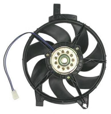 47445 NRF Вентилятор, охлаждение двигателя