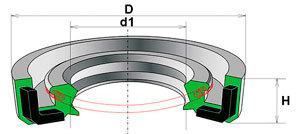 HA0503 MOTORHERZ 20,00/26,00*3,00 (пыльник распределителя рулевой рейки для защиты верхнего сальника)