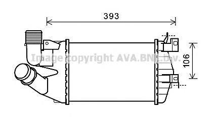 OL4584 AVA Интеркулер