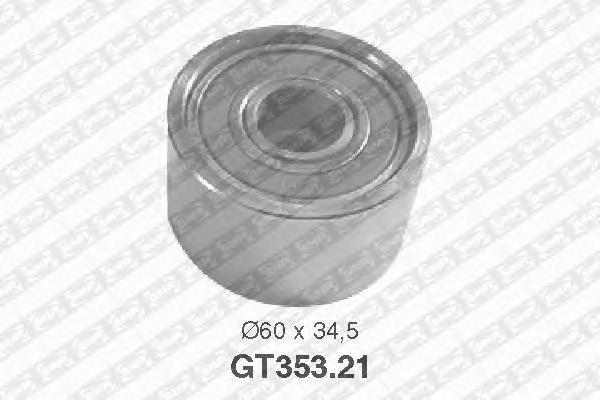 Натяжной ролик, ремень ГРМ NTN-SNR GT35321