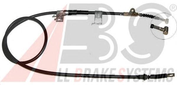 K15237 ABS Тросик, cтояночный тормоз
