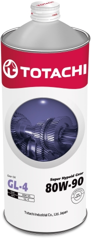 Масло трансмиссионное TOTACHI  Super Hypoid Gear 80W-90  полусинтетика 1 л. API GL-4 TOTACHI 4562374691834