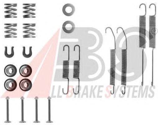 0718Q ABS Комплектующие, тормозная колодка
