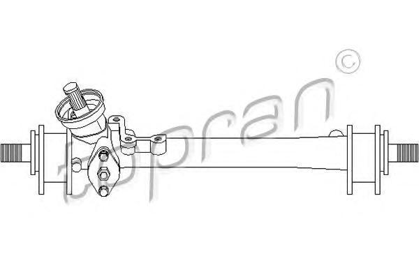 102794 TOPRAN Рулевой механизм