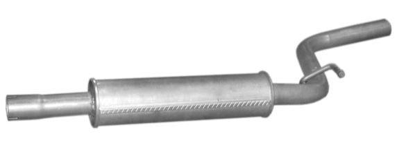 Глушитель средн часть VW: CADDY III 1.6 04- POLMOSTROW 30610