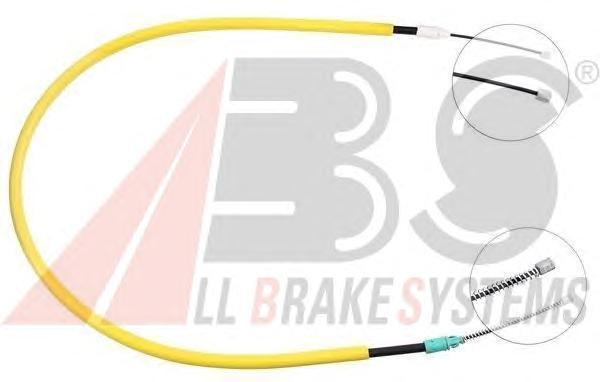 K12326 ABS Трос, стояночная тормозная система