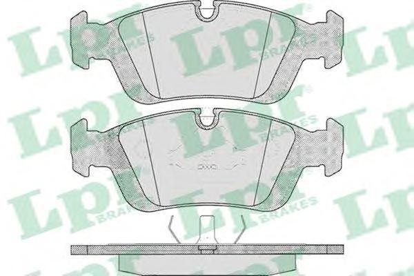 05P331 LPR/AP Комплект тормозных колодок, дисковый тормоз