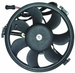 VWPAS97940 BODYPARTS Мотор+вентилятор конденс конд