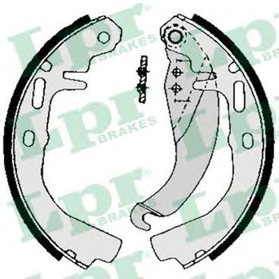 02500 LPR Комплект тормозных колодок