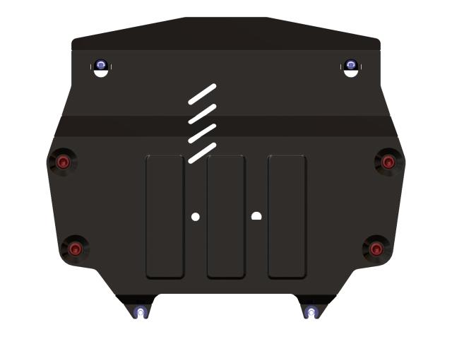 Защита картера и КПП, сталь 2,5 мм, вес: 10,68, время  установки: 15-30 мин. SHERIFF 092391