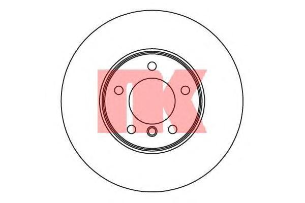 311582 NK Тормозной диск