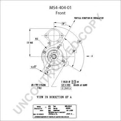 Стартер PRESTOLITE MS440401