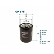 OP575 FILTRON Фильтр масляный