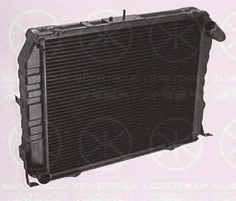 8193302139 KLOKKERHOLM Радиатор, охлаждение двигателя