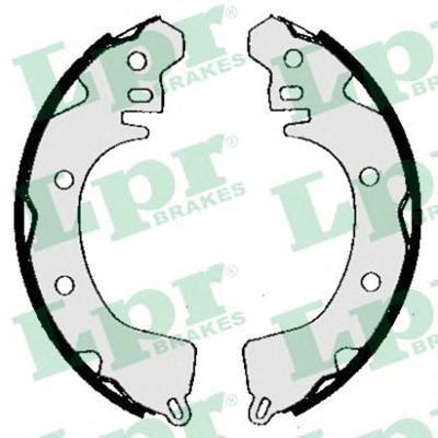 Комплект тормозных колодок LPR 05260