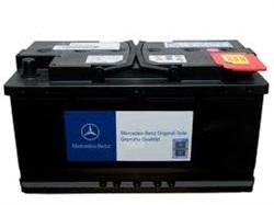 Стартерная аккумуляторная батарея MERCEDES-BENZ A0055411001