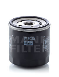 W7035 MANN-FILTER Масляный фильтр