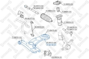5700120SX STELLOX Рычаг независимой подвески колеса, подвеска колеса