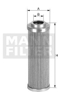 HD574 MANN Гидрофильтр, рулевое управление
