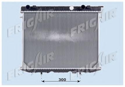 Радиатор, охлаждение двигателя FRIG AIR 01073052