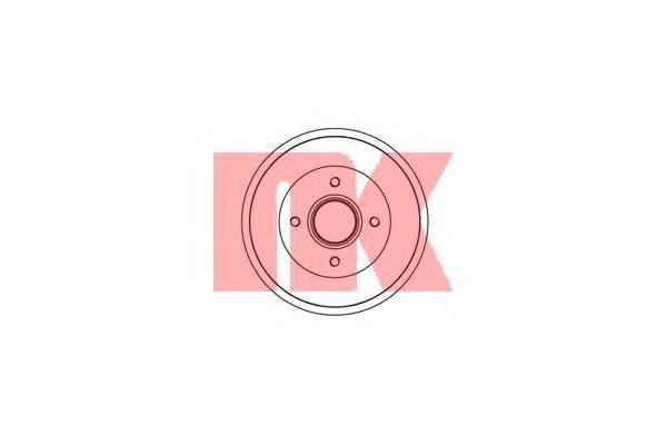 253913 NK Тормозной барабан