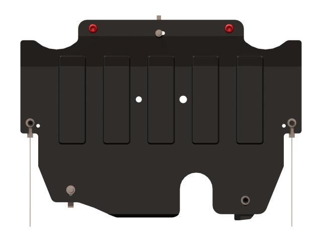 Защита картера и КПП, сталь 2 мм, вес: 9,14, время  установки: 15-30 мин. SHERIFF 080982