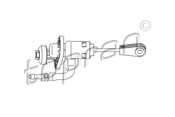 110543 TOPRAN Главный цилиндр, система сцепления