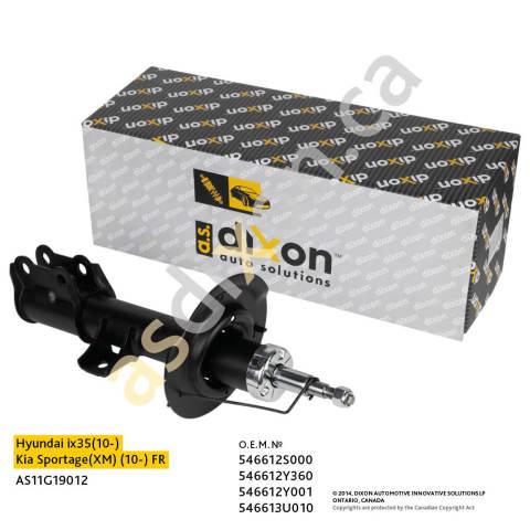 AS11G19012 A.S.DIXON Амортизатор передний правый