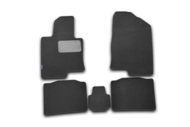 NLT204011110KH AUTOFAMILY-NOVLINE Текстильные коврики в салон для Hyundai Sonata YF