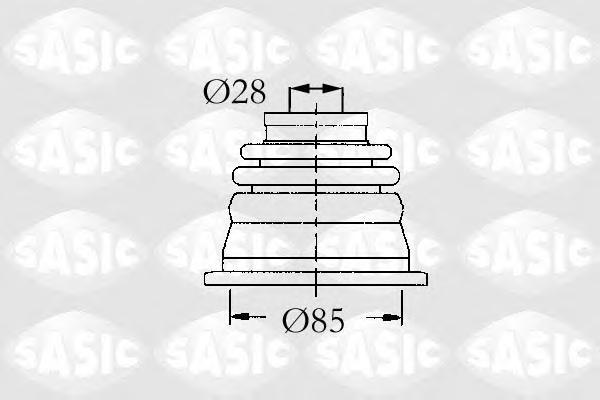 4003451 SASIC Пыльник шруса