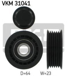 Ролик натяжителя ремня агрегатов SKF VKM31041