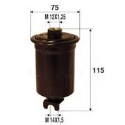 587208 VALEO Топливный фильтр