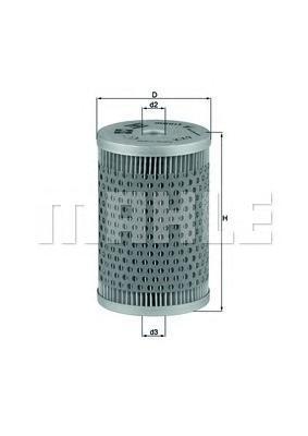 KX9 KNECHT Топливный фильтр