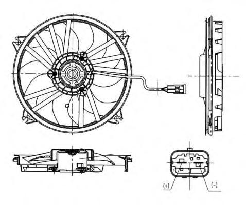Вентилятор NRF 47665