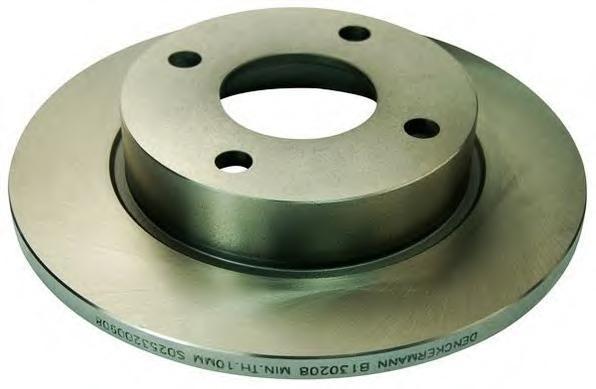 B130208 DENCKERMANN Тормозной диск