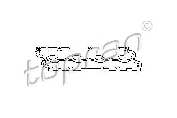 110858 TOPRAN Прокладка, крышка головки цилиндра