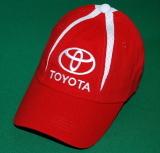 TMC1104KBT TOYOTA Бейсболка тойота красная с белыми вставками