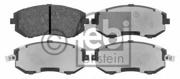 16643 FEBI Колодки тормозные дисковые к-т